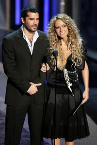 Eduardo Verastegui and Barbara Mori at the 6th Annual Latin Grammy Awards.
