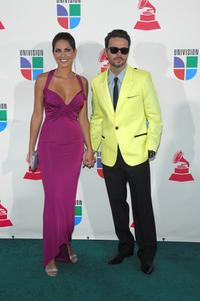 Barbara Mori and Jose Maria Torres at the 8th annual latin GRAMMY awards.