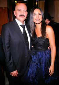 Rakesh Roshan and Barbara Mori at the after party of the New York premiere of