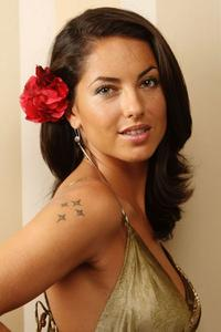 Barbara Mori at the portrait session to promote 'Kites
