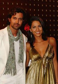 Hrithik Roshan and Barbara Mori at the photocall of 'Kites
