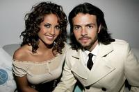 Barbara Mori and Jose Maria Torre at the 8th Annual latin Grammy Awards.