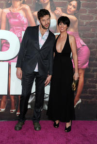 Chris O'Dowd and Guest at the California Premiere of