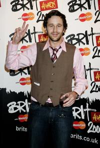 Chris O'Dowd at the Brit Awards 2006 with MasterCard.