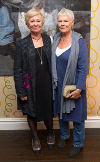Penny Ryder and Judi Dench at the England premiere of