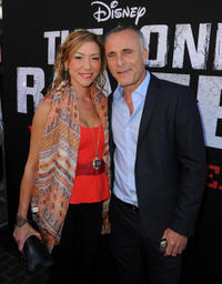Sun Nea and Timothy V. Murphy at the California premiere of