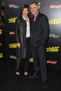 Annabeth Gish and Timothy V. Murphy at the California premiere of