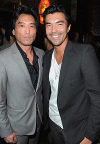 Peter Shinkoda and Ian Anthony Dale at the unleashing of