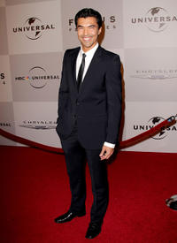 Ian Anthony Dale at the after party of NBC Universal's 68th Annual Golden Globes in California.