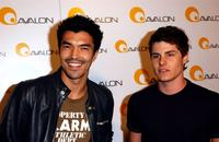 Ian Anthony Dale and Marc Senter at grand debut of '