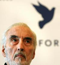 Christopher Lee at the 56th International Berlin Film Festival.