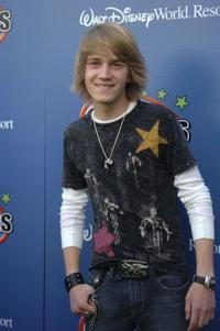 Jason Dolley at the Disney Channel Games 2007 All-Star party.