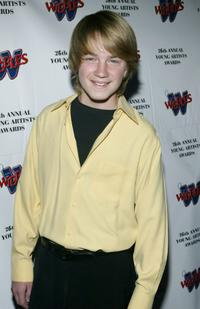 Jason Dolley at the 26th Annual Young Artist Awards.