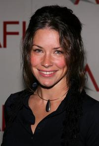 Evangeline Lilly at the AFI Awards Luncheon 2005.