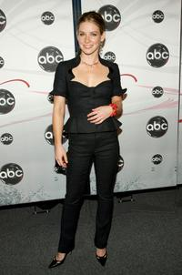 Evangeline Lilly at the ABC Upfront presentation.