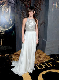 Evangeline Lilly at the California premiere of