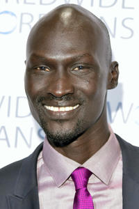 Ger Duany at the Worldwide Orphans' 10th Annual Gala in New York City.