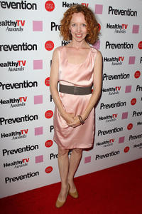 Darlene Hunt at the Prevention Healthy TV Awards in California.