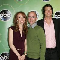 Darlene Hunt, Jim Rash and Charlie Finn at the ABC Television Network Upfront.