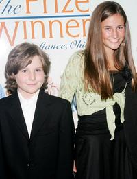Connor Sharp and Melanie Tonello at the New York premiere of