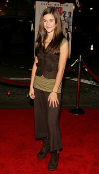 Melanie Tonello at the Los Angeles premiere of
