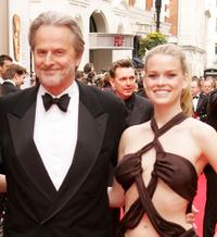 Trevor Eve and Alice Eve at the Pioneer British Academy Television Awards.