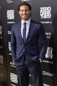 Edgar Ramirez at the California premiere of