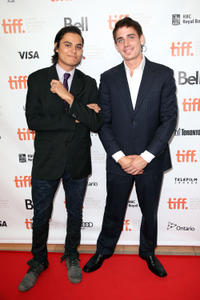Kiowa Gordon and Adam Butcher at the Canada premiere of