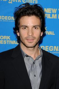 Santiago Cabrera at the premiere of
