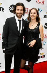 Santiago Cabrera and Guest at the 2007 NCLR ALMA Awards.
