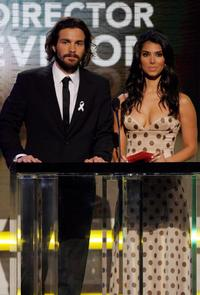 Santiago Cabrera and Roselyn Sanchez at the 2007 NCLR ALMA Awards.