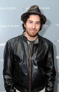 Jake Hoffman at the Cinema Society screening of