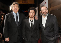 Co-presidents of Sony Pictures Tom Bernard, Jake Hoffman and Michael Barker at California premiere of