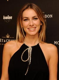 Kira Miro at the Sylvie Van Der Vaart Hosts Moet Atelier Opening.