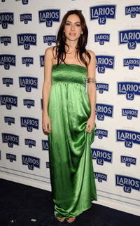 Kira Miro at the Larios Fashion Calendar Launch party.