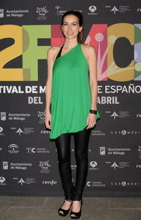 Kira Miro at the 12th Malaga Film Festival presentation party.