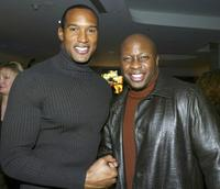 Henry Simmons and Steve Harris at the ABC-TV's All-Star Party for the 2004 TCA Winter Tour.