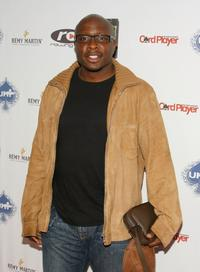 Steve Harris at the Urban Health Institutes second Annual celebrity poker championship.