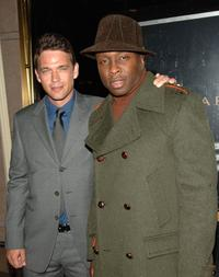 Dougray Scott and Steve Harris at the premiere party of