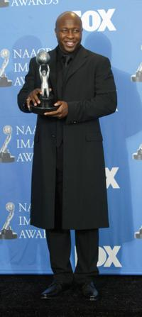 Steve Harris at the 35th Annual NAACP Image Awards.