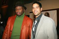 Steve Harris and Adam Rodriguez at the 19th Annual Soul Train Music Awards.