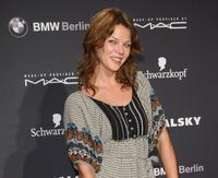 Jessica Schwarz at the Michalsky collection presentation during the Mercedes-Benz Fashion Week.