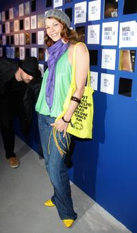 Jessica Schwarz at the Diesel perfume launch.