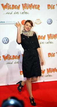 Jessica Schwarz at the premiere of