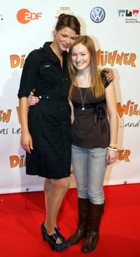 Jessica Schwarz and Michelle von Treuberg at the premiere of