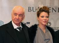 Armin Mueller-Stahl and Jessica Schwarz at the premiere of