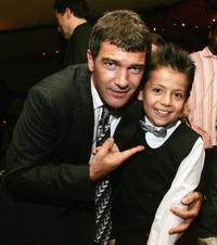 Antonio Banderas and Adrian Alonso at the after party of the premiere of