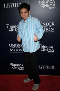 Adrian Alonso at the screening of