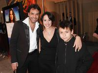 Eugenio Derbez, Patricia Riggen and Adrian Alonso at the screening of