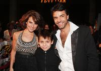 Kate Del Castillo, Adrian Alonso and Eugenio Derbez at the screening of